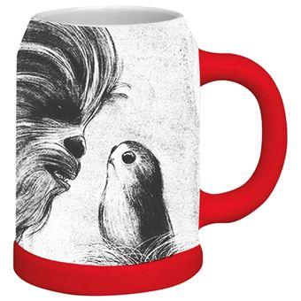 Jarra Star Wars - Chewbacca y porg
