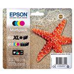 Cartucho de tinta multipack Epson 603 Negro XL + Tricolor