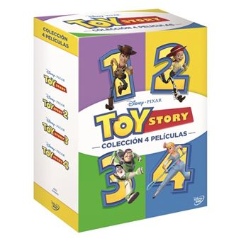 Pack Toy Story 1-4 - DVD