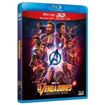 Vengadores: Infinity War - 3D + Blu-Ray