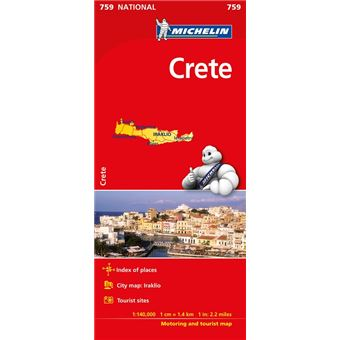 Mapa National Creta
