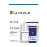 Microsoft 365 Familia 6 Usuarios 1 Año
