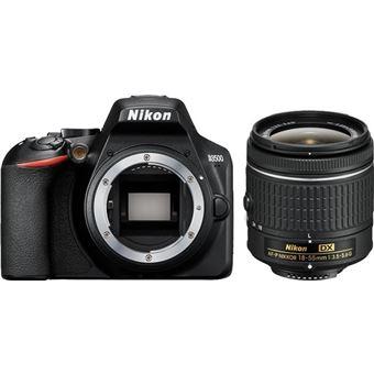 Cámara Réflex Nikon D3500 + AF-P DX VR 18-55 mm