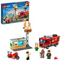 LEGO City Fire 60214 Rescate del Incendio en la Hamburguesería