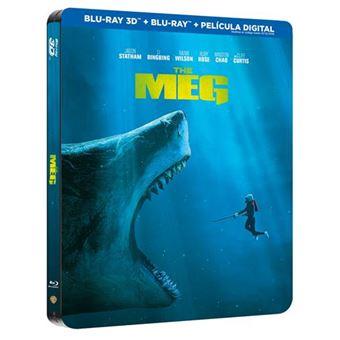 Megalodon - Steelbook Blu-Ray + 3D