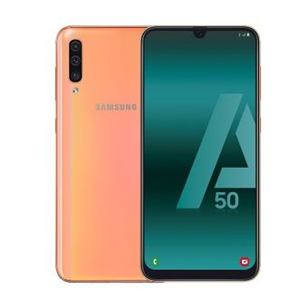 Samsung Galaxy A50 6,4'' 128GB Coral