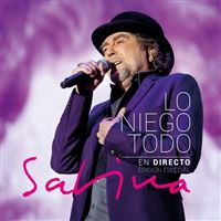 Lo niego todo - En directo - 2 CD + DVD