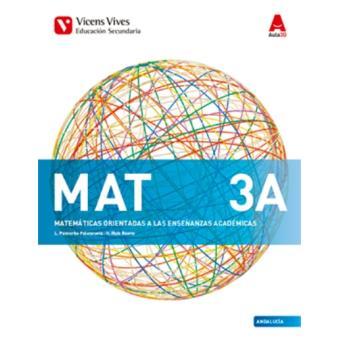 MAT 3 a Andalucía (Aula 3D)