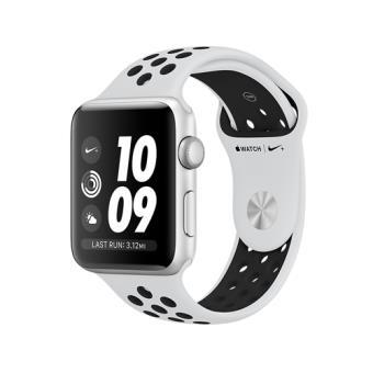Apple Watch S3 Nike+ GPS 38mm Caja de aluminio en plata y correa Nike Sport platino puro/negra