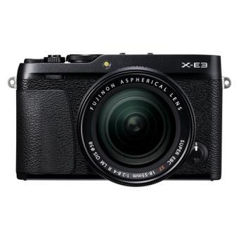 Cámara EVIL Fujifilm X-E3 + XF 18-55 mm Negro