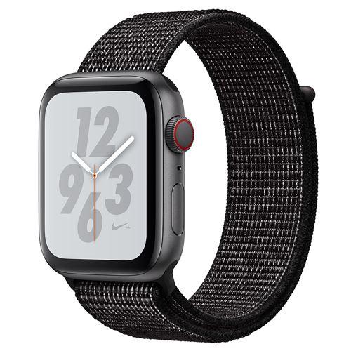 Apple Watch Series 4 Nike+ GPS + Cellular 44mm space grey Sport Loop black