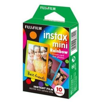 Papel Fujifilm Rainbow para Instax Mini
