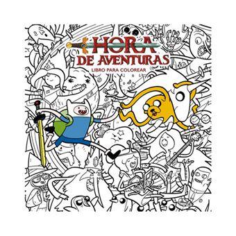 Hora de aventuras - Libro para colorear