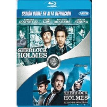 Pack Sherlock Holmes + Sherlock Holmes: Juego de sombras - Blu-Ray