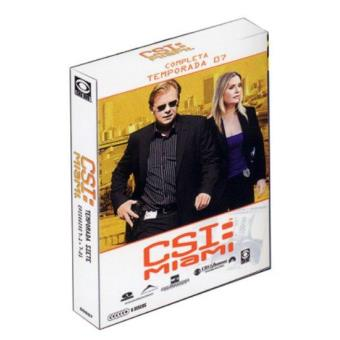 CSI Miami - Temporada 7 - DVD