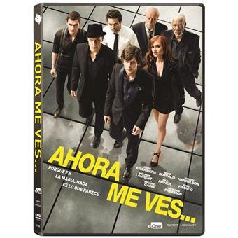 Ahora me ves - DVD