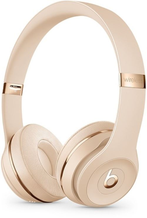 Auriculares Bluetooth Beats Solo3 Wireless Oro satinado