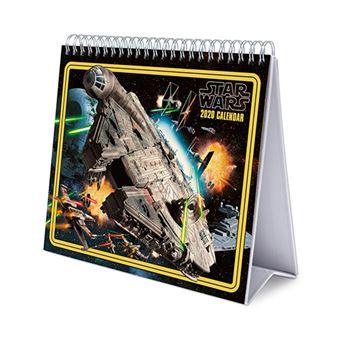Calendario de escritorio 2020 Erik Deluxe multilingüe Star Wars
