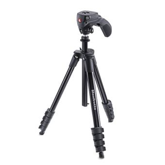 Manfrotto - Trípode Compact Action - Negro