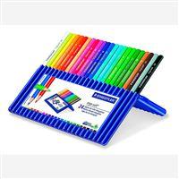 Estuche 24 lápices de color Staedtler Ergosorft 157