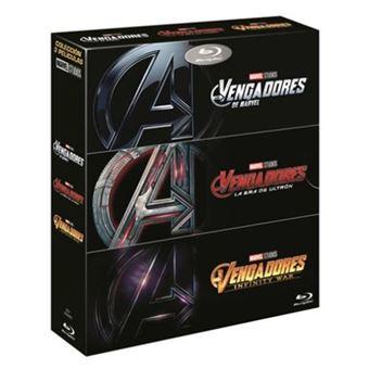 Trilogía Los Vengadores - Blu-Ray