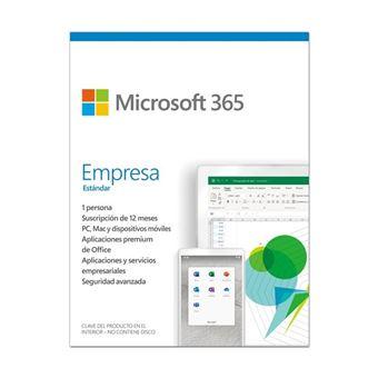 Microsoft 365 Empresas 1 Usuario 1 Año