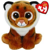 Peluche Beanie Boos Tigre marrón (15cm) Cumpleaños 1 de octubre