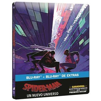 Spiderman. Un nuevo universo - Steelbook Blu-Ray + Blu-Ray Extras
