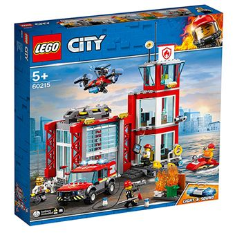LEGO City Fire 60215 Parque de Bomberos