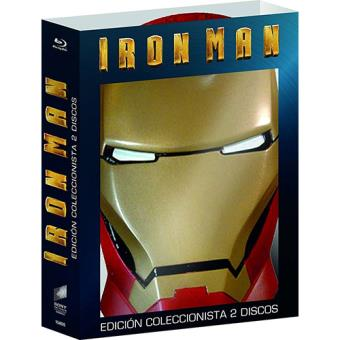 Iron Man - Blu-Ray,  Ed máscara
