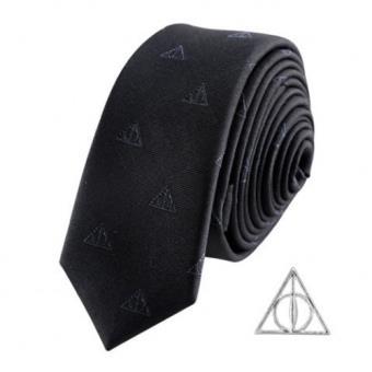 Corbata y pin Harry Potter - Reliquias de la Muerte