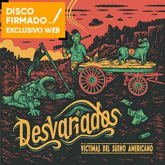 Víctimas del sueño americano - Disco Firmado + Poster