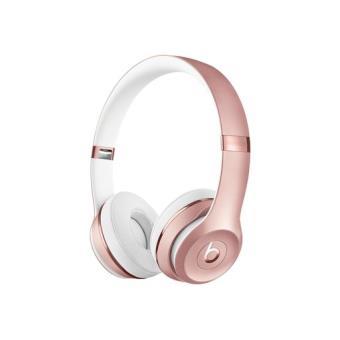 Auriculares Bluetooth Beats Solo3 Oro rosa