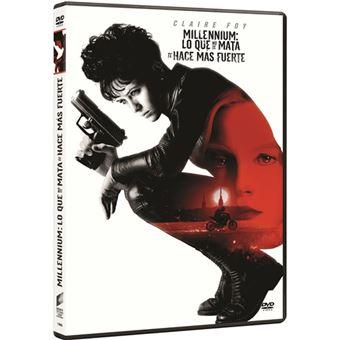 Millennium 4: Lo que no te mata te hace más fuerte - DVD