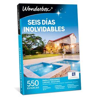 Caja Regalo WonderBox - Seis días inolvidables