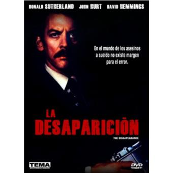 La desaparición - DVD