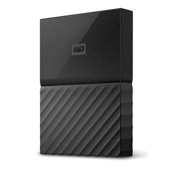 Disco duro portátil WD My Passport para Mac USB 3.0/USB-C 1TB Negro