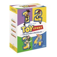 Pack Toy Story 1-4 - Blu-Ray