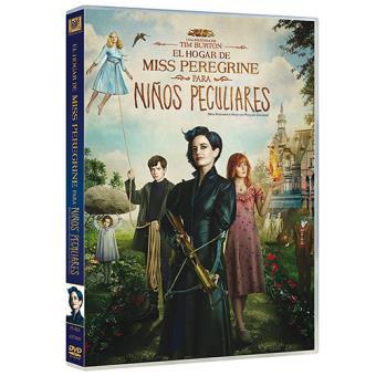 El hogar de Miss Peregrine para niños peculiares - DVD