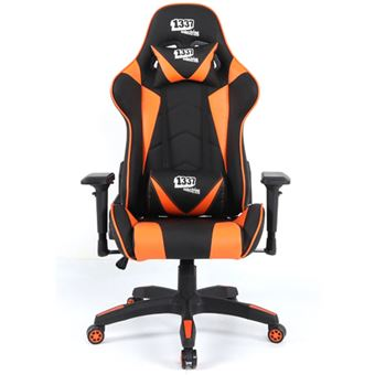Silla Gaming 1337 Industries GC790 4D Naranja / Negro
