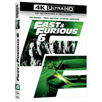 A todo gas - Fast and Furious 6 - UHD + Blu-Ray