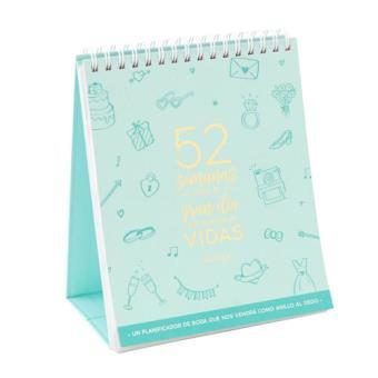 Mr Wonderful Calendario de boda que nos vendrá como anillo al dedo