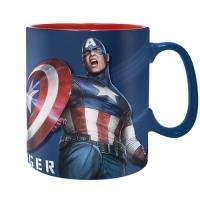 Taza Marvel Vengadores - Capitán América Sentinel of Liberty