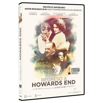 Regreso a Howards End Ed. 25 Aniversario - DVD