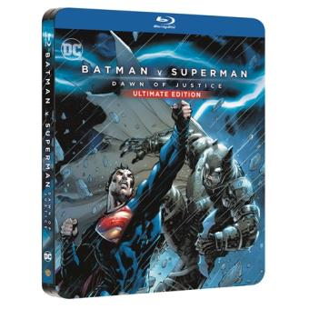 Batman v Superman - Steelbook Blu-Ray  Ed extendida