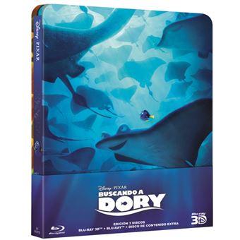 Buscando a Dory - Blu-Ray 3D + 2D - Estuche metálico