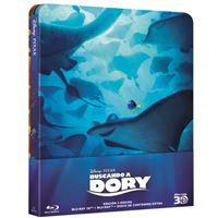 Buscando a Dory - Steelbook Blu-Ray + Blu-Ray 3D