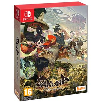 Sakuna: Of Rice and Ruin Golden Harvest Edition Nintendo Switch