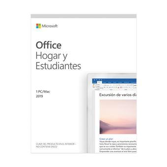 Microsoft Office Hogar y Estudiantes 2019 1 Usuario