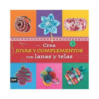 Crea joyas y complementos con lanas y telas